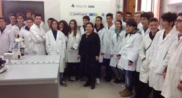 Inaugurazione laboratorio Microbiologia