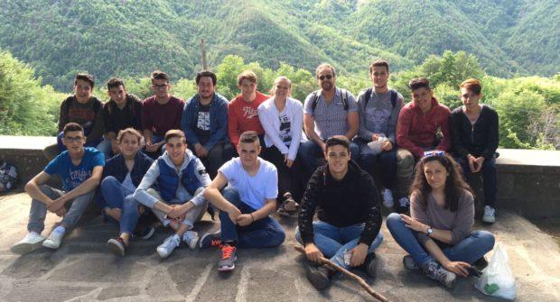 Classe IV D all'Azienda Agricola la Casaccia di Bologna
