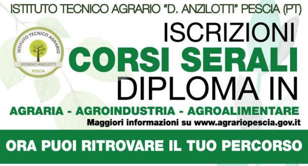 """CORSO SERALE ISTITUTO TECNICO AGRARIO """"D. ANZILOTTI"""""""