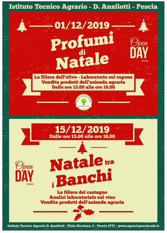Open Day - Natale tra i banchi