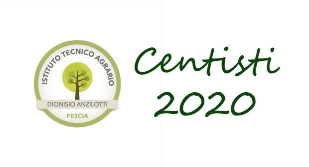 Istituto Anzilotti, centisti 2020